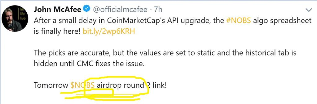 Airdrop crypto definition